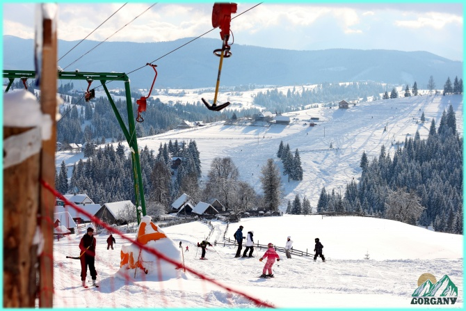 Winter vacation in Karpaty